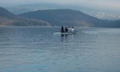 En solitaire sur le lac
