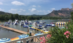 Parc aquatique - Lac Perrin