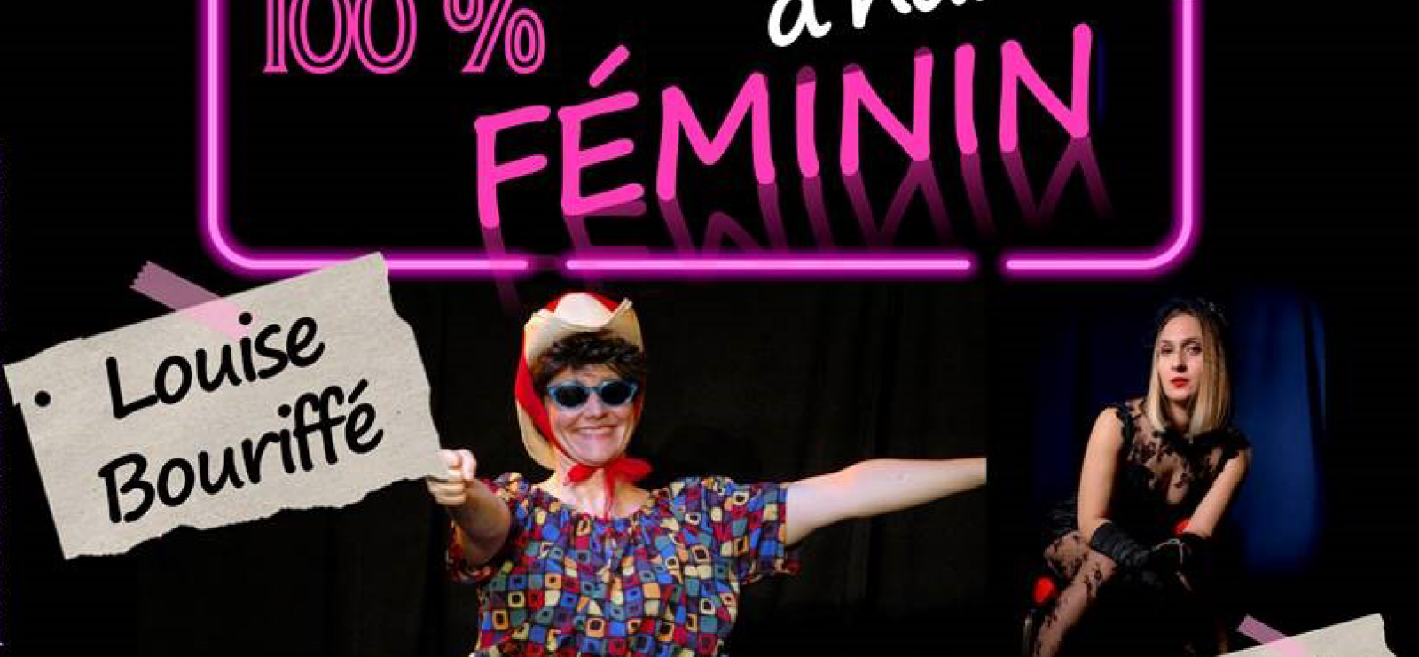 Festival du rire : 'Plateau 100% féminin'