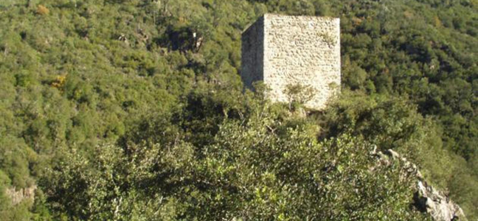 Tour sarrasine de Saint Cassien des Bois