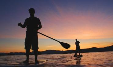 Location stand-up paddle