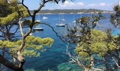 Excursions Port Cros / Porquerolles avec les Bateaux Verts au départ du Port des Issambres