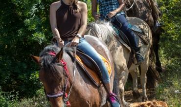 Balade à cheval Réserve de Fondurane