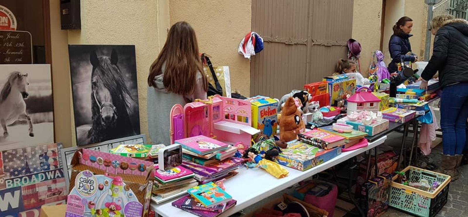 Bourse aux jouets des p'tites canailles