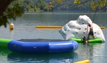 Parc aquatique - Lac de Saint-Cassien