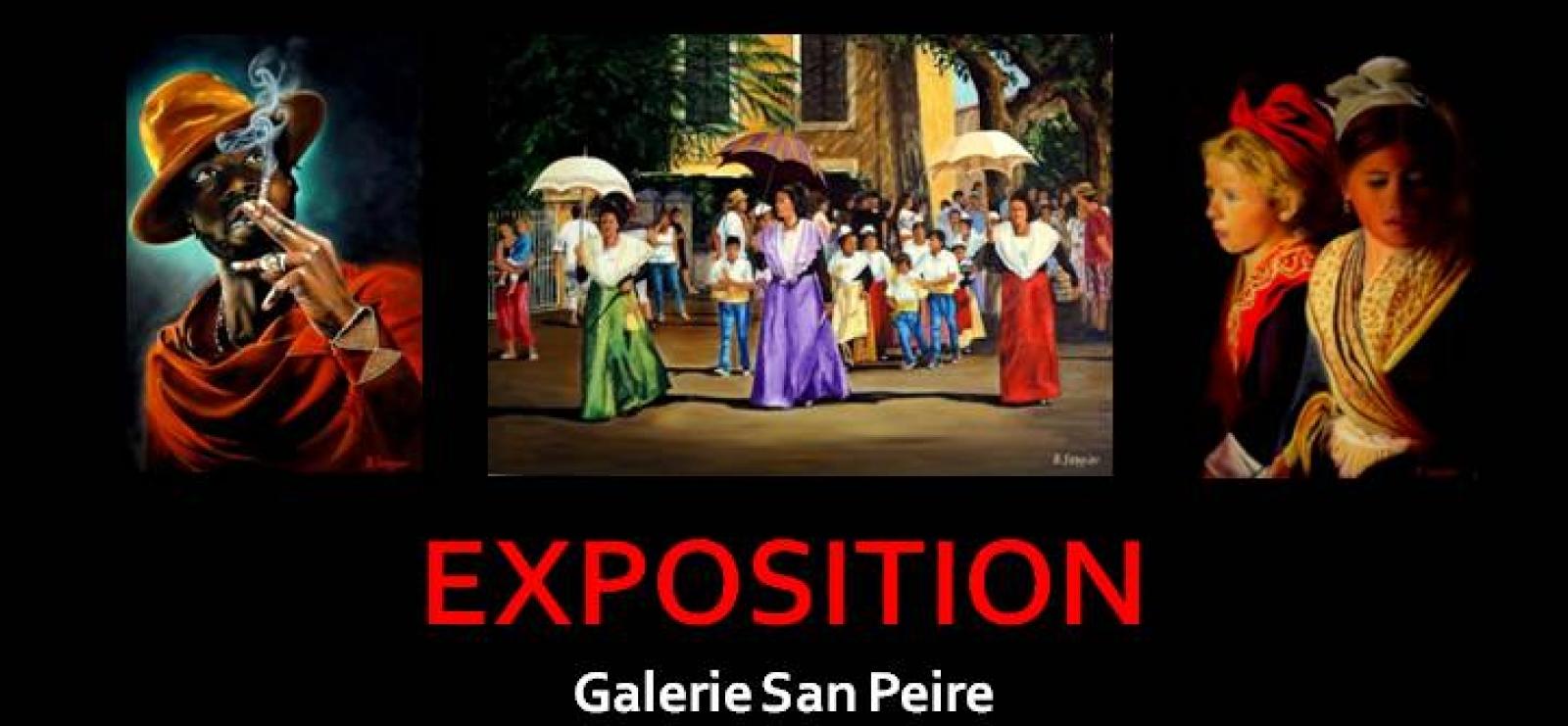 Exposition de peintures - Bernard SANNIER