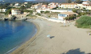 Cap Riviera - St-Aygulf - Fréjus - la plage face à l'hôtel