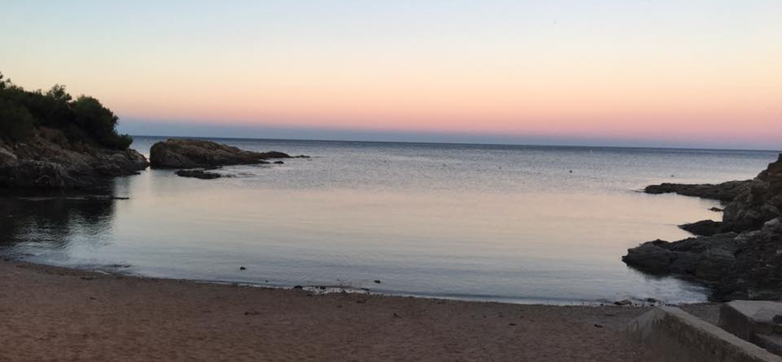 Calanque Tardieu (sunrise)