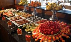 Hôtel Saint-Aygulf - buffet au restaurant