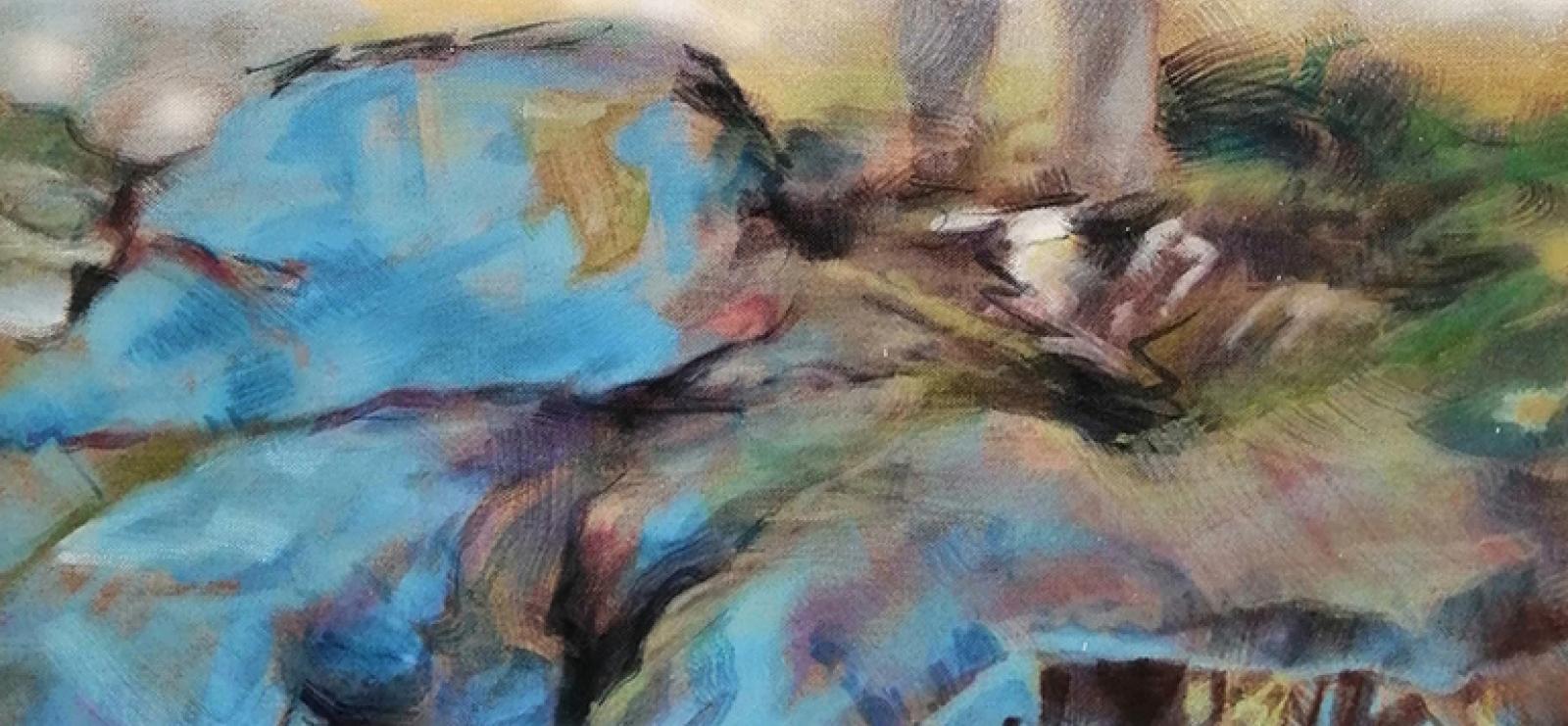 Exposition : Anne-Marie Chasson - sculpture et Agnès de la Roncière - peinture | Art et Vin