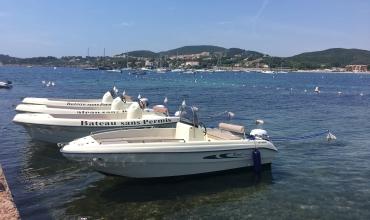 Location de bateau sans permis 5 pers - matinée