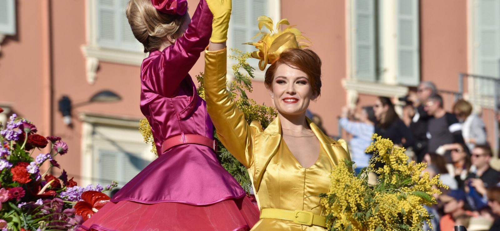 Bataille des fleurs du Carnaval de Nice