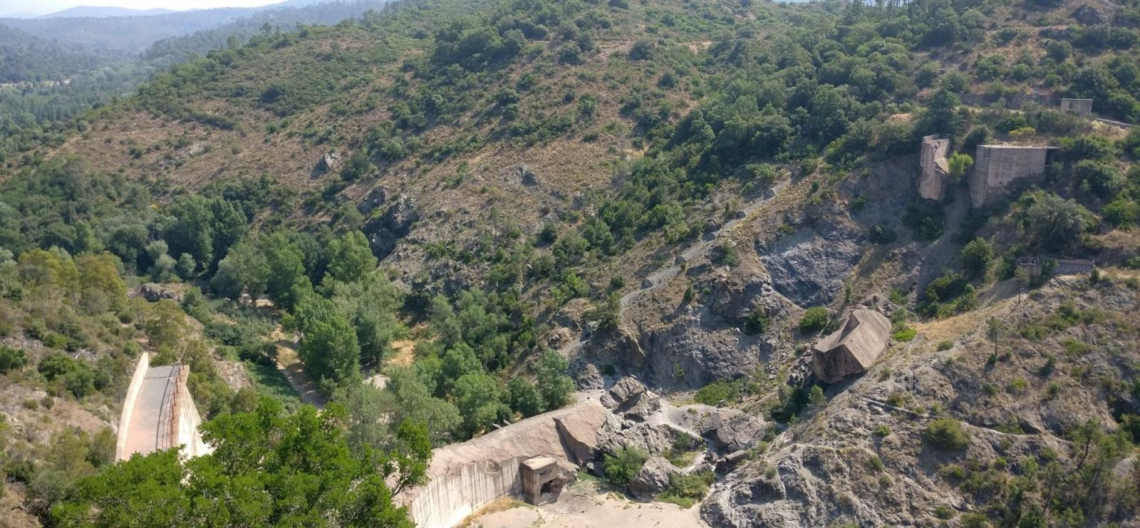 Randonnée - Boucle du barrage de Malpasset