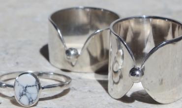 Bijoux argent et gemme fait main
