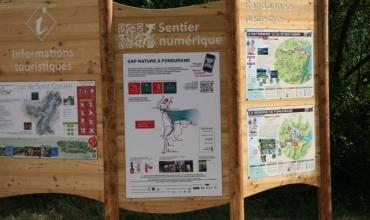 panneau d'entrée de la réserve