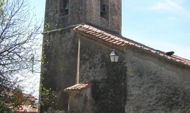 clocher vu de l'aire St Barthélemy