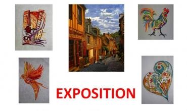 Peintures et Broderies