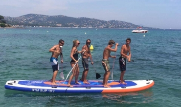 Location paddle géant
