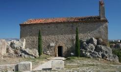 Extérieur chapelle St Barthélemy et aire