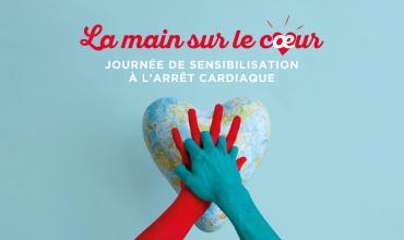 La main sur le cœur : Journée de sensibilisation à l'arrêt cardiaque