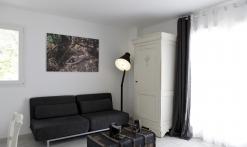 chambre photographie avec canapé convertible