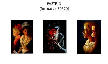 Pastels B Sannier