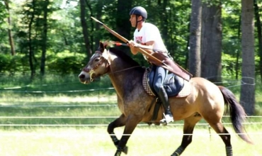 Stage de tir à l'arc à cheval