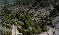 randonnée jusqu'au barrage