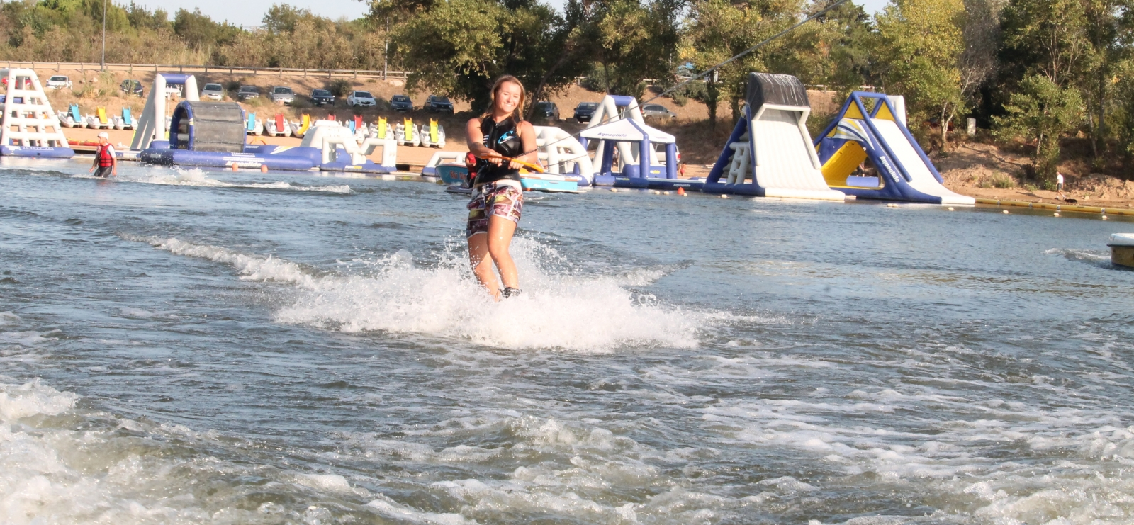 Wakeboard sur lac
