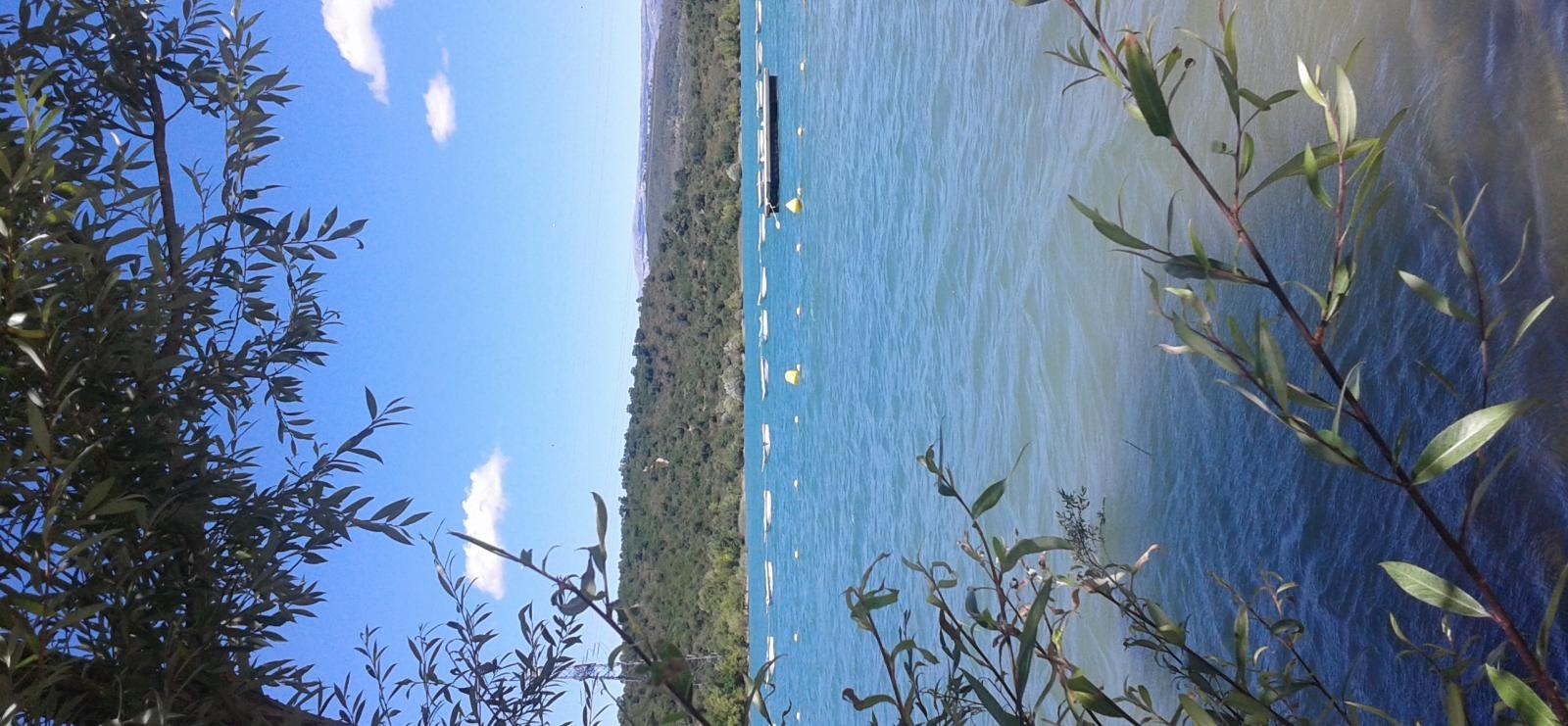 baignade surveillée lac de Saint Cassien