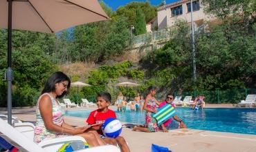Les Jardins d'Azur piscine