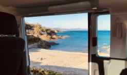 Stop sur la plage des Issambres