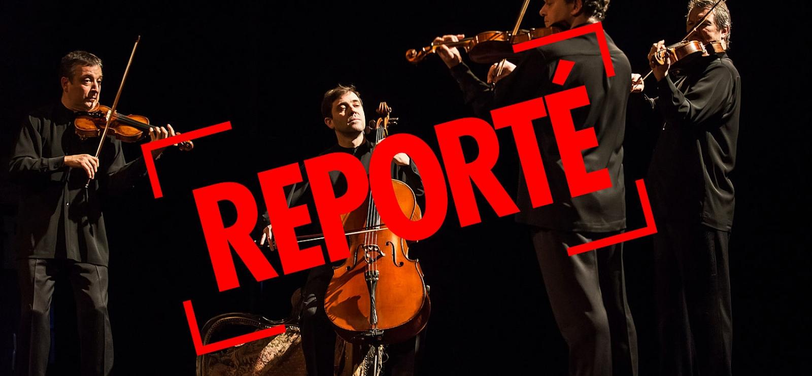Reporté au 17/12/20 - Concert Quatuor Debussy Requiem(s)