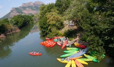Canoe sur l'argens - chasse au trésor