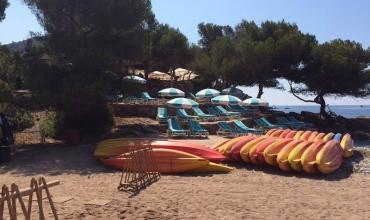 Kayak en mer - Le Dramont