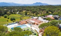 Vue aérienne du Village La Bastiane
