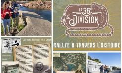 Rallye historique ' la 36ème Division' avec Estérel Aventures