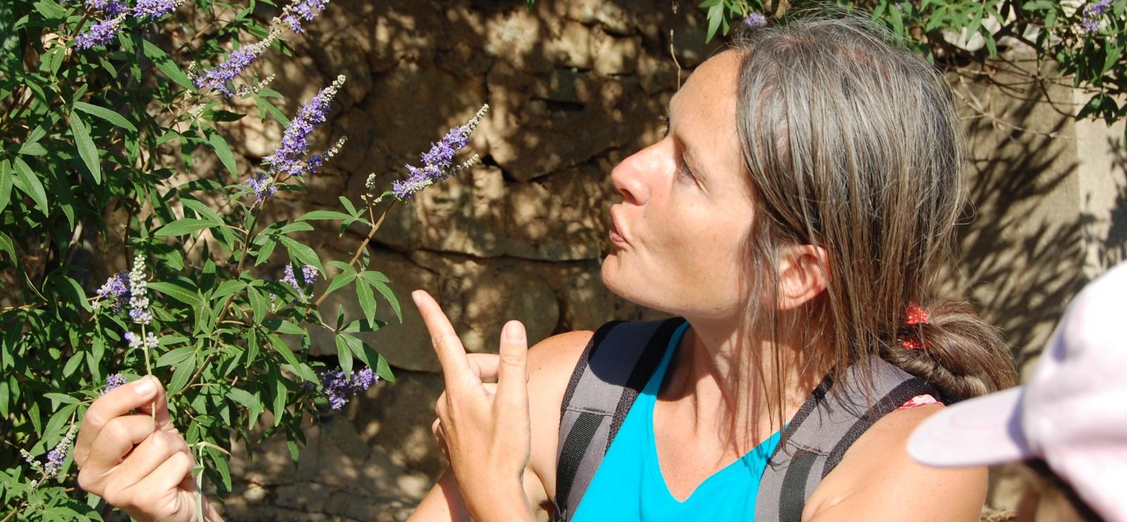 Marjorie et les plantes aromatiques